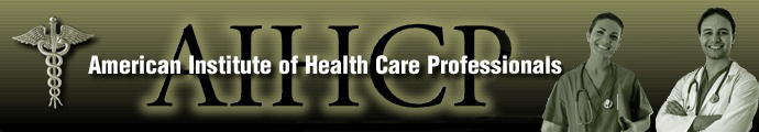 Image result for The American Institute of Health Care Professionals, Inc.